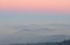 Sunrise through Smoke at Crater Lake