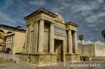Roman Gate, Cordoba, Spain
