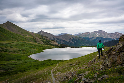 Upper Ptarmigan Lake, Chaffee County, CO.