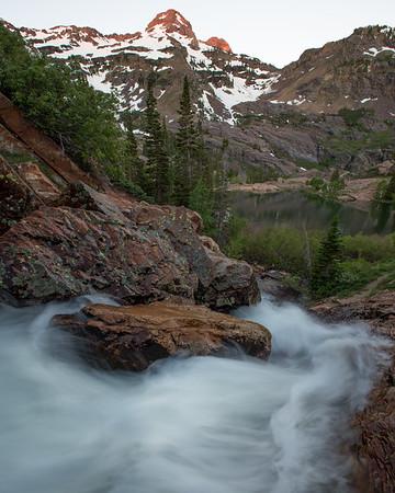 Lake Blanche Waterfall I - 4x5