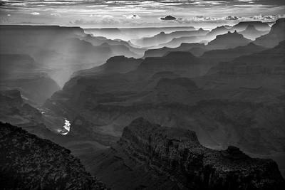 Navajo Point sunset