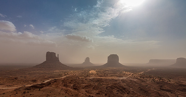Dust Storm – Monument Valley