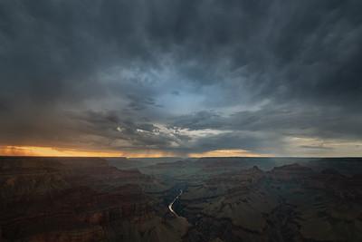 Storm over Pima