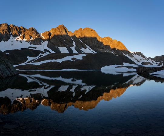 American Peak, east of Handies Peak.  American Basin
