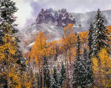 Castle & New Snow, Colorado