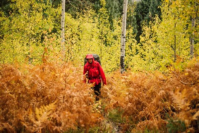 Luca Doehling Backpacking in the Fall