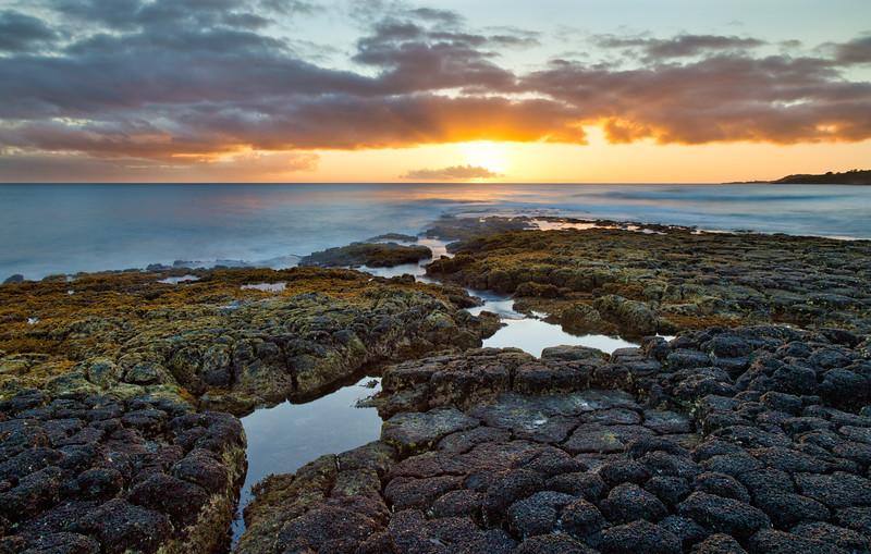 Sunset at Kukui'ula