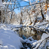 Snowfall on the Westfork of Oak Creek