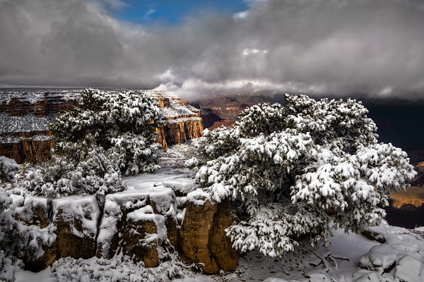 Winter Storm, Grand Canyon