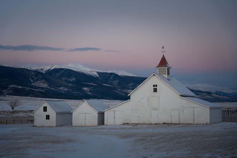 Beckwith Ranch Sunrise, Westcliffe, CO