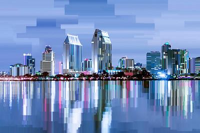 San Diego CA - Digital Painting