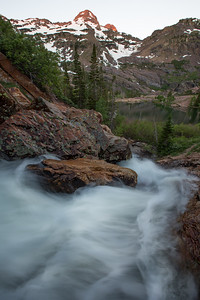 Lake Blanche Waterfall I