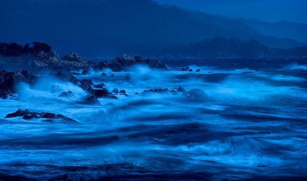 Waves at Twilight