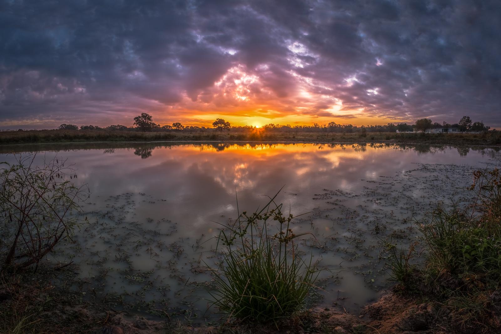 Texas Ranch Sunrise