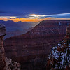 Winter Sunset - Grand Canyon