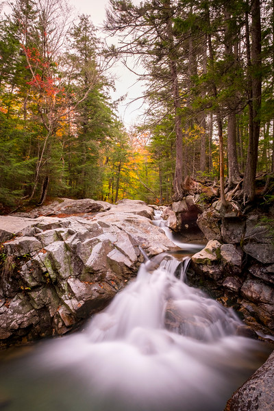 Autumn Cascade, Lincoln, NH