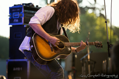 Tom Wilson at the Interstellar Rodeo in Edmonton on July 28, 2014