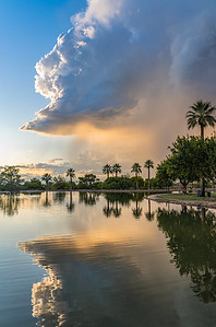 Monsoon Clouds over Granada Park