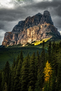 Castle Mountain, Alberta