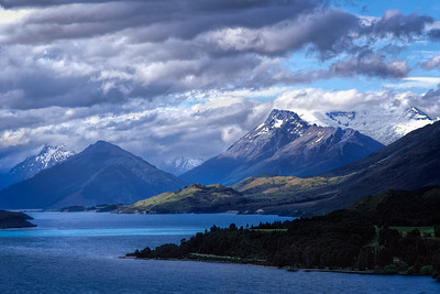 Lake Wapatipu, New Zealand