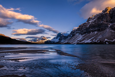 Bow Lake Evening, Icefields Pkwy