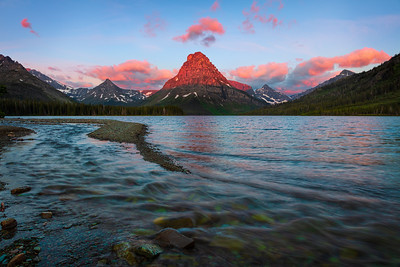 Sinopah Mtn & Two Medicine Lake, Glacier NP