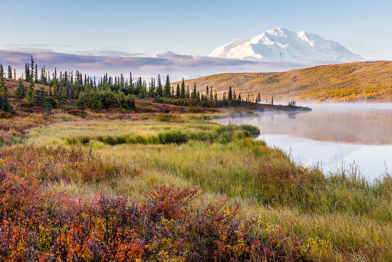 Wonder Lake Sunrise, Denali National Park