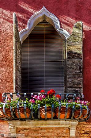 From the Balcony- Cannaregio