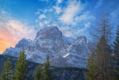 Glowing Peak