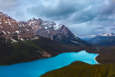 Peyto Lake, Icefields Pkwy.