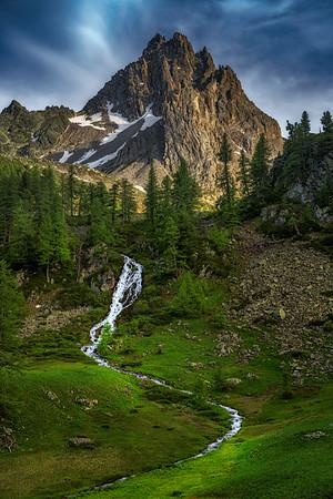 Cascade, Nevache, France