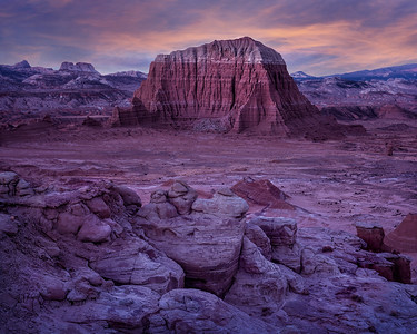 Butte, Cathedral Valley