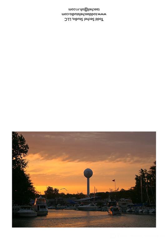 10032007_013 Vermilion River Sunrise - Vermilion, Ohio