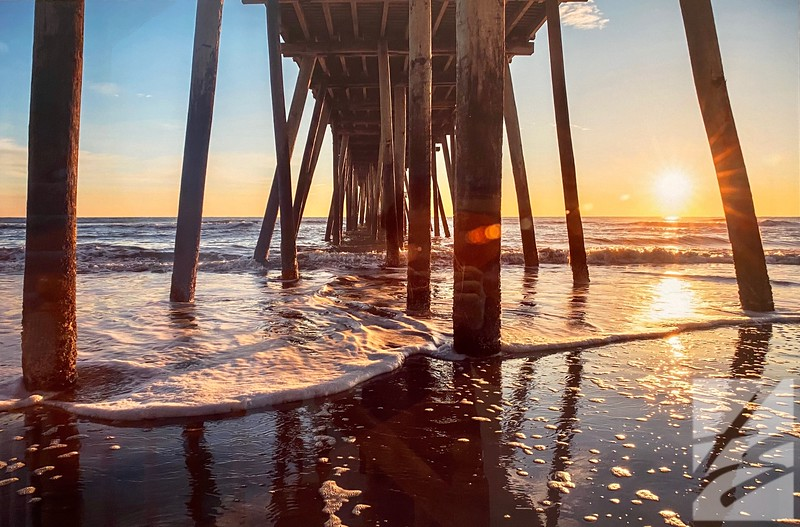 101) Sunrise Under the Pier -      Was $450 - now $225