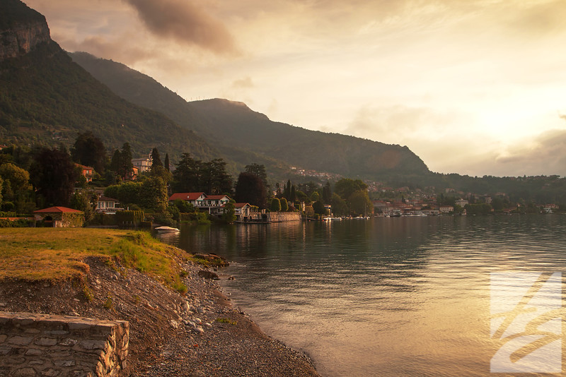 "(34) - Lake Como, Italy - 24"" x 36"" metal print (was $450) now = $225"