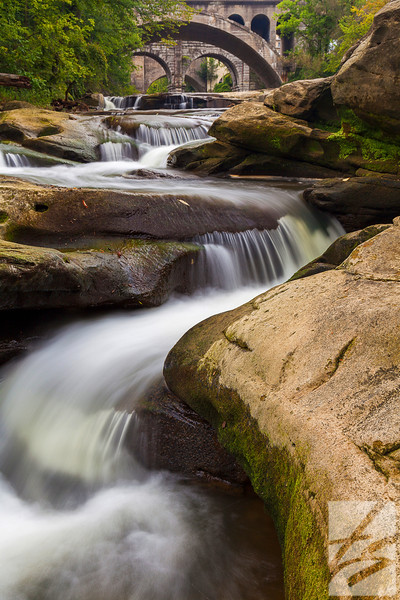 "(25)  - Berea Falls - Berea, Ohio (vertical) - 20"" x 30"" metal print (was $250) now = $125"