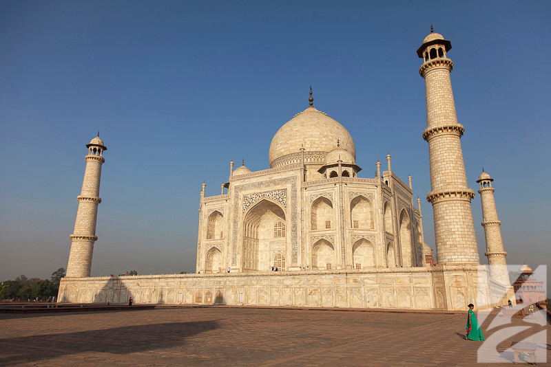"(7) - Taj Mahal - Agra, India - 16"" x 24"" metal print (was $185) now = $90"