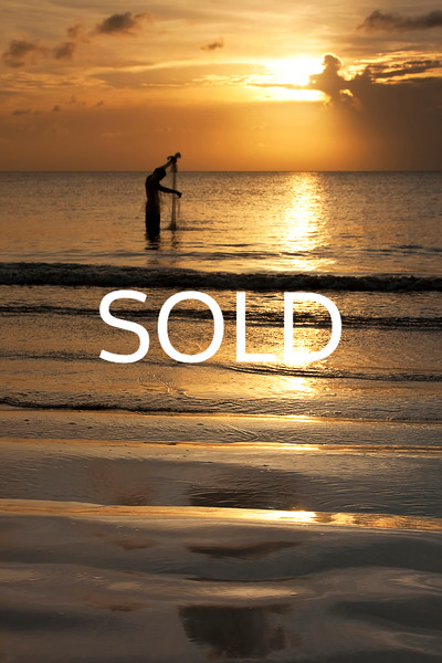 "**SOLD**(49)  - Balinese Fisherman #2 - Bali, Indonesia - 20"" x 30"" metal print (was $250) now = $125"