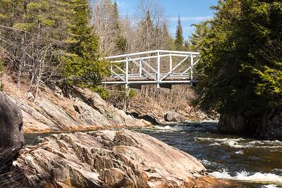 Bridge near Griffin Falls, NY