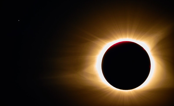 alpha leo and a solar eclipse