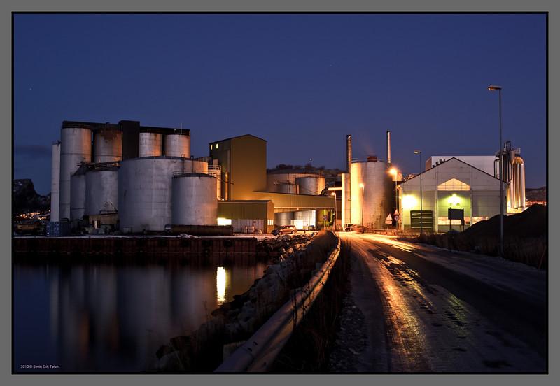 Herring oil factory, Bodø