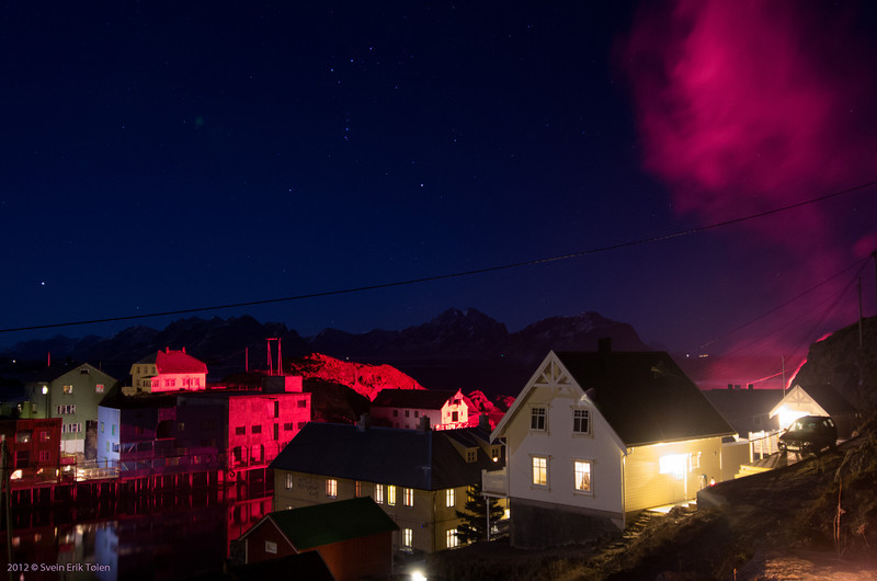 New year's eve in Nyksund