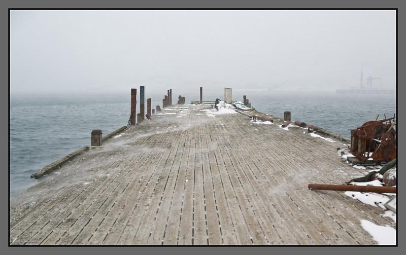 Winter quau II<br /> Bodø harbour