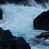 Sea whitewater II - breakers washing into Skjerpingan sound, Nyksund