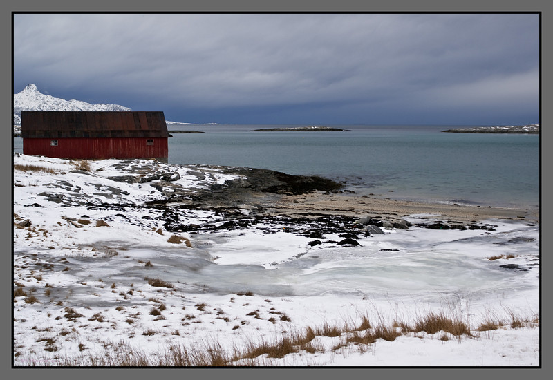 Iced shores<br /> Mjelle, Nordland