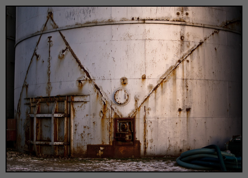 Traces of past <br /> Herring oil factory, Bodø