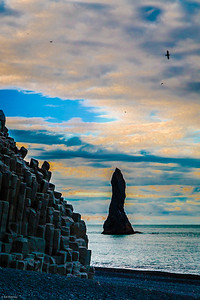 Reynisfjara Beach Sea Stacks