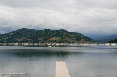 A view of Lake Oroville from Bidwell Canyon Marina April 14, 2016 in Oroville, Ca. Recent rains have brought the lake level up significantly. (Emily Bertolino -- Enterprise-Record)