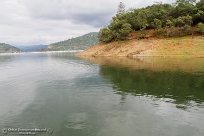 A view of Lake Oroville from Bidwell Canyon Marina April 14, 2016 in Oroville, Ca. (Emily Bertolino -- Enterprise-Record)