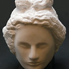 Snow on the Mountain Sun on the Sea  Version 1, 2005 Chillagoe marble on granite base, H.21 W.17.5 D.19cm. Sold